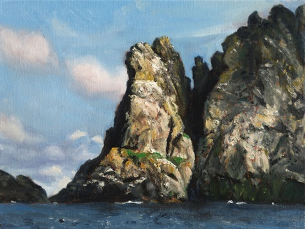 Fred Schley, Boreray (close quarters)