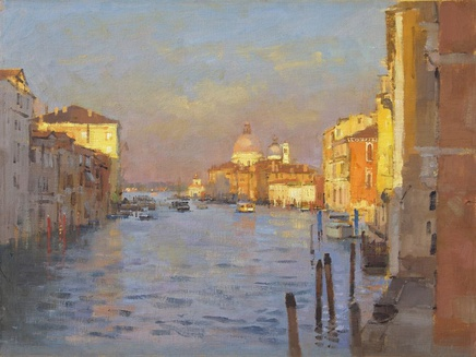 Matthew Alexander, Afternoon light, the Grand Canal