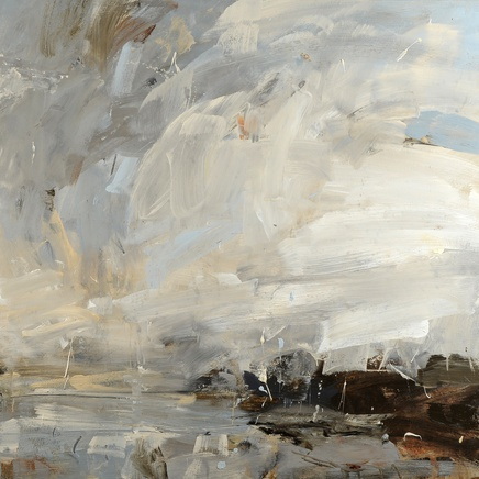 Louise Balaam - From the headland, looking for oystercatchers