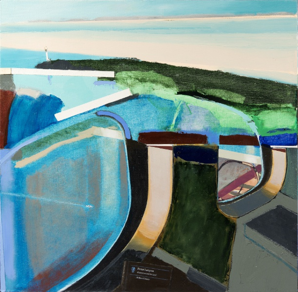 Lanyon (2006), Oil on canvas, 25 x 36 ins