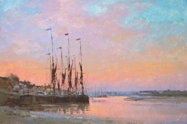 Evening Light at Maldon  SOLD